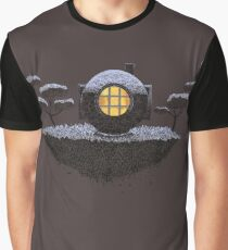 Floating Diver Home Sweet Home Graphic T-Shirt