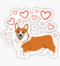 Welsh Corgi is my Valentine Valentines Day Gifts Cute Valentine's Dog Animal Spirit Heart Funny V-day Puppy  T-Shirt Sweater Hoodie Iphone Samsung Phone Case Coffee Mug Tablet Case Gift Sticker