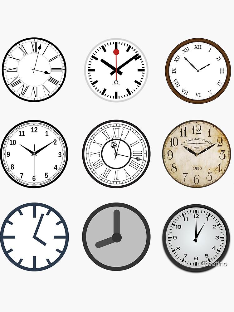 Grandfather Time Turner Clocks Hourglass Tick Tock by Essetino