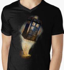 Magic Bag that more bigger on the inside Men's V-Neck T-Shirt