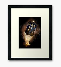 Magic Bag that more bigger on the inside Framed Print