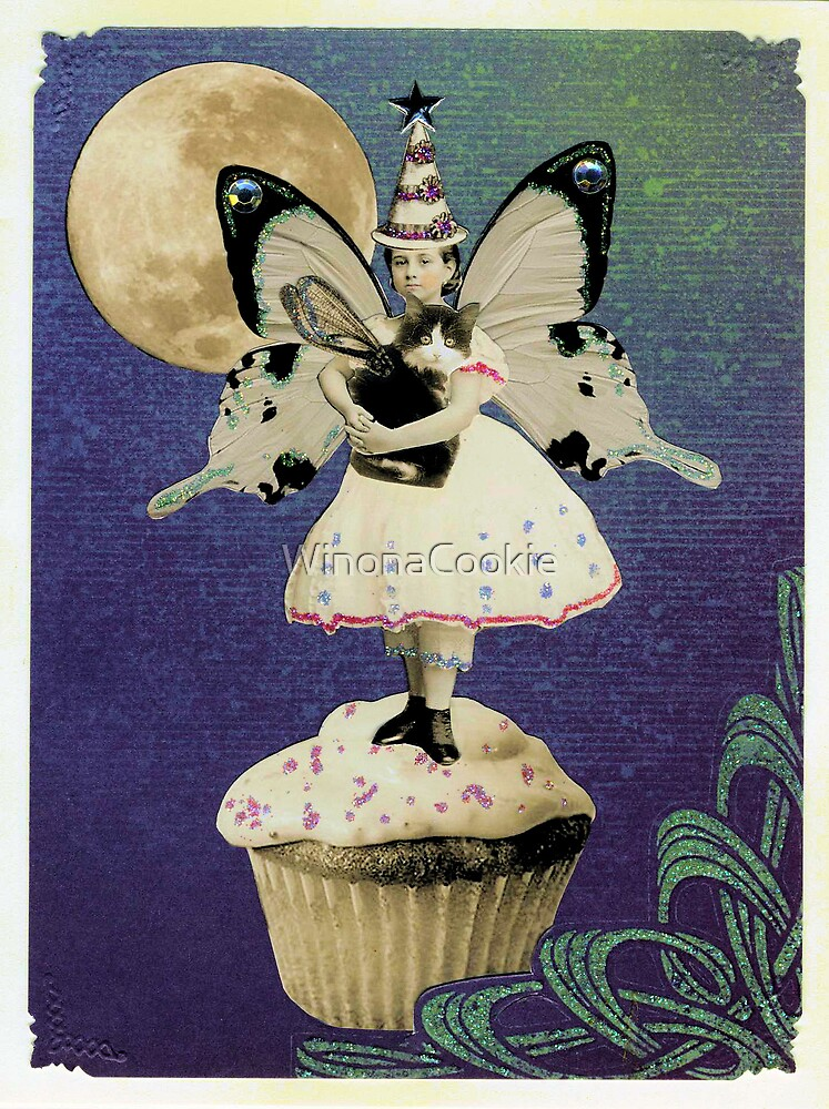 Cupcake Birthday Fairy by WinonaCookie