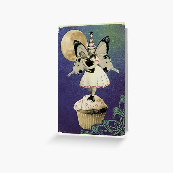 Cupcake Birthday Fairy Greeting Card