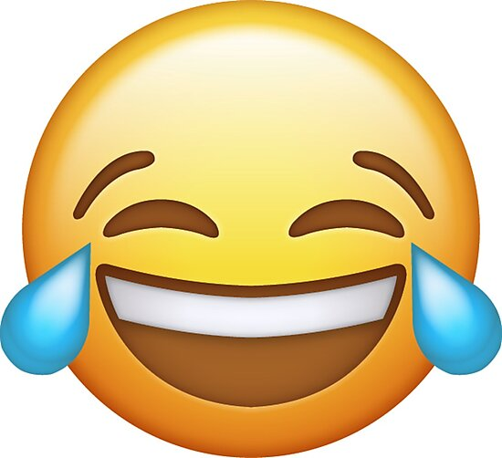 Laughing Face Emoji by Tin Ahh