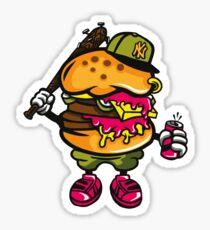 Burger Bastard Sticker