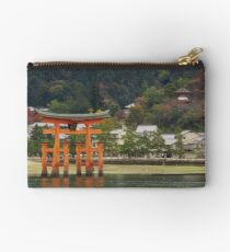Floating Torii Gate Studio Pouch