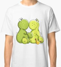 Frogs In Love Frog Couple Lover Gift Funny Valentine's Day 2018 Classic T-Shirt