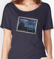 Greetings from Bates Motel! Women's Relaxed Fit T-Shirt