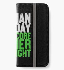 Human By Day, Hardcore Gamer By Night Gamer Gift iPhone Wallet/Case/Skin