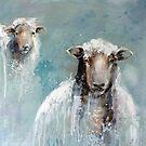2 Sheep by Julie Mayo