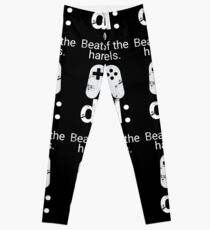 Dad Definition Beats All Hard Levels Funny Gift Leggings