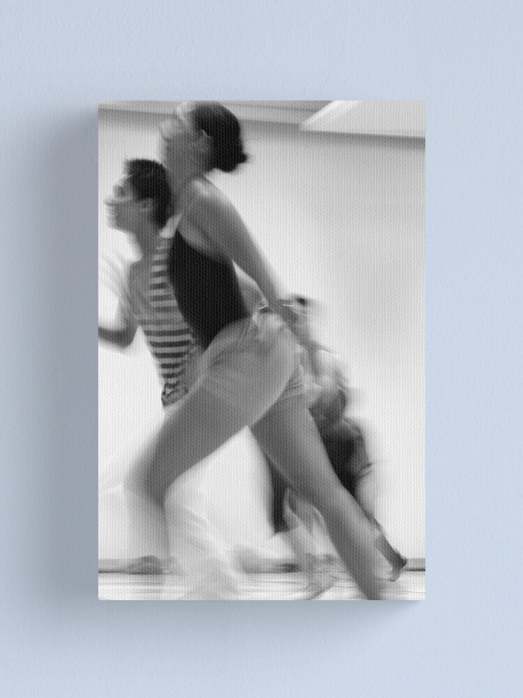 Alternate view of downstage Canvas Print