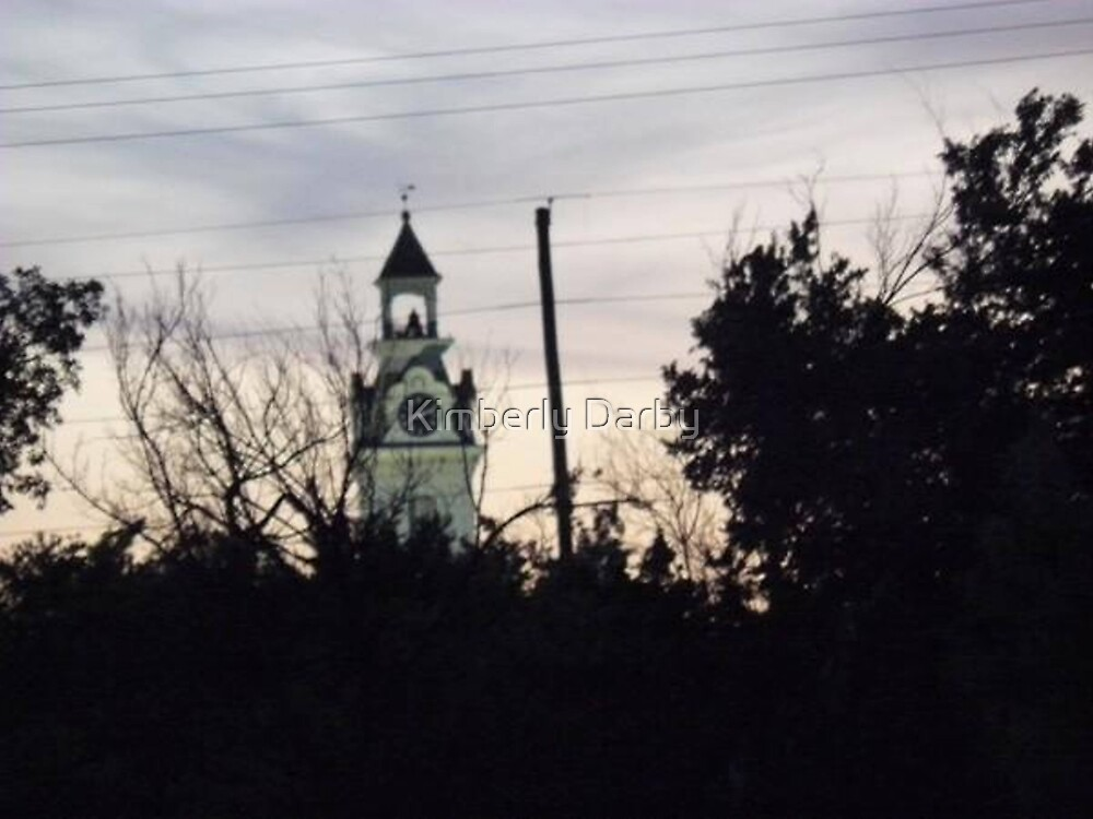 Courthouse Sunset 2 by Kimberly Darby