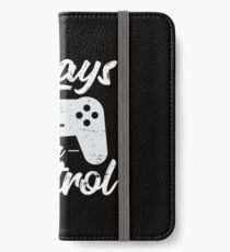 Always In Control Funny Retro Console Gaming iPhone Wallet/Case/Skin