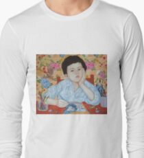 Double Take boy sketching Long Sleeve T-Shirt