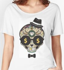 Unique Skull - Modern Design  Women's Relaxed Fit T-Shirt