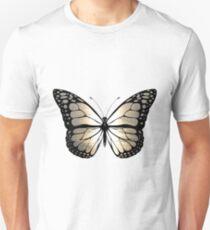 Sunset butterfly Unisex T-Shirt