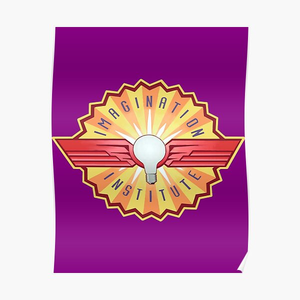 Imagination Institute Logo Poster