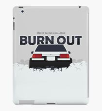 Burn Out - Drift Car iPad Case/Skin