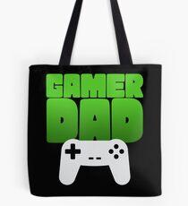 Gamer Dad Funny Retro Console Gaming Tote Bag