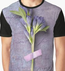 True Blue Freesia Graphic T-Shirt