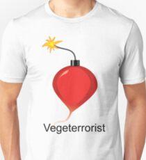 Vegeterrorist Unisex T-Shirt