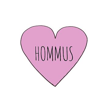 HOMMUS LOVE by wanungara