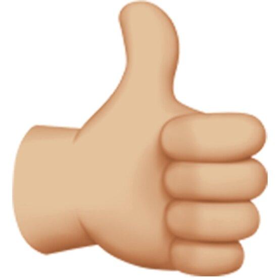 Bildergebnis für emoji daumen hoch