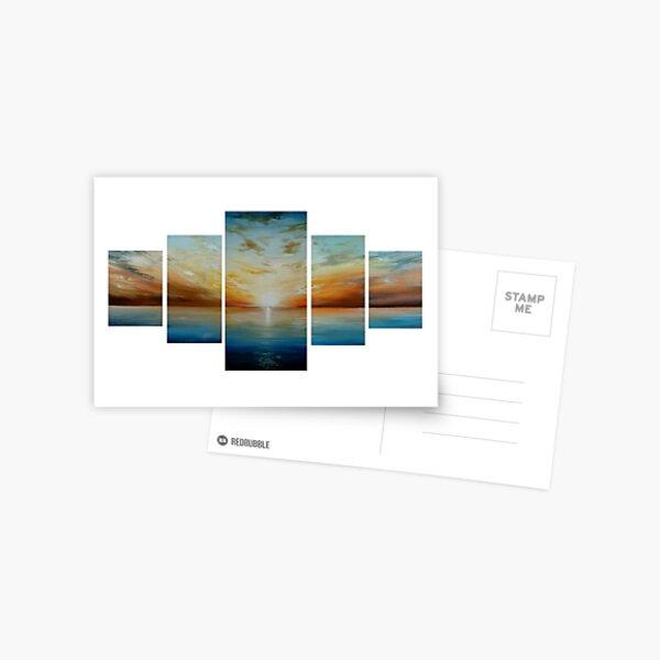Sunrise over the Bay Postcard
