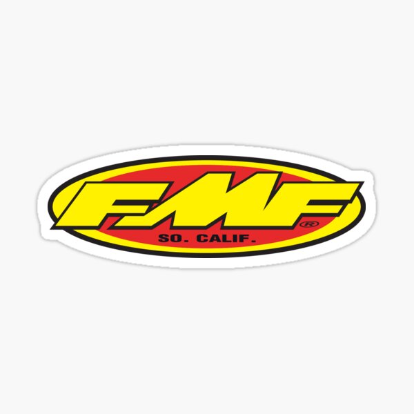 FMF exhausts Sticker