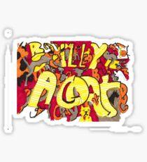 """""""Billy is a Goat"""" Sticker"""