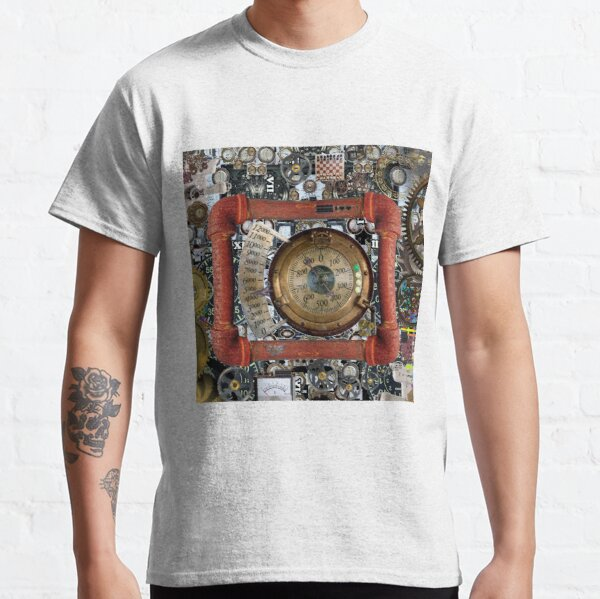 Cyberpunk, Steampunk, Technopunk, Science fiction, SF, sci-fi, speculative fiction #CyberPunk #Steampunk #Technopunk Classic T-Shirt
