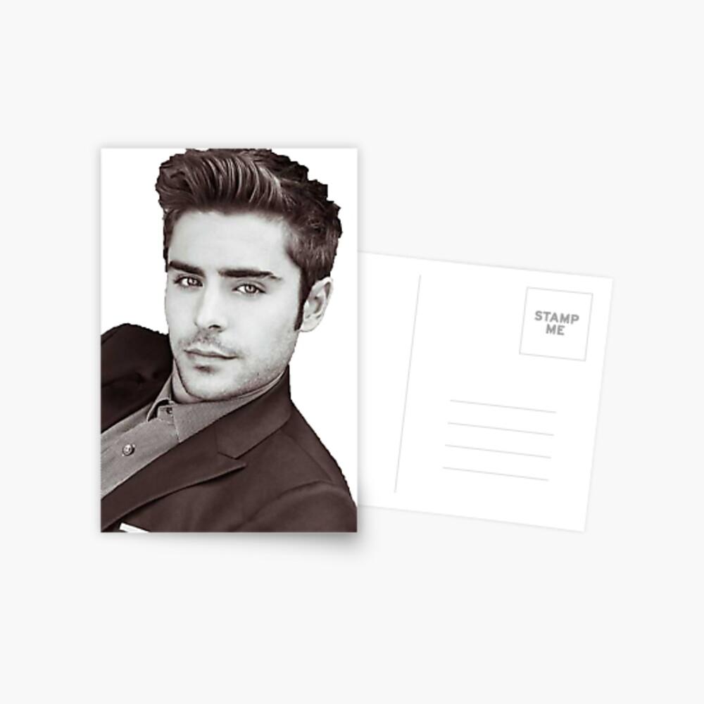 Zac Efron Postcard