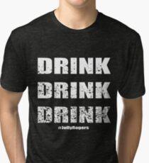 Jolly Rogers Drink Tri-blend T-Shirt