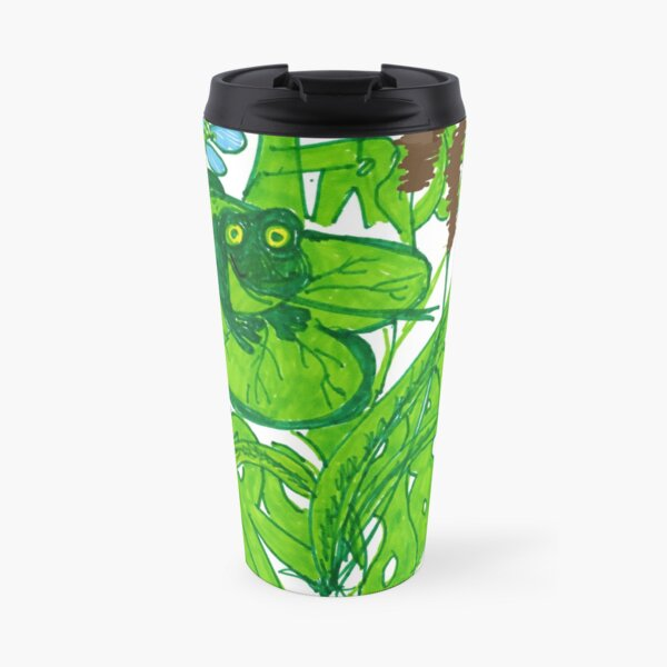 """Froggy goes a Courting"" Travel Mug"