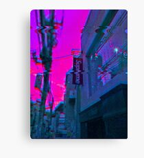 Vaporwave Supreme Canvas Print