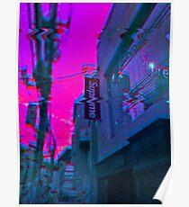 Vaporwave Supreme Poster