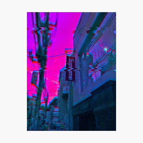 Vaporwave Supreme Photographic Print