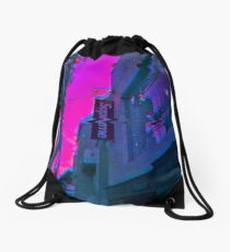 Vaporwave Supreme Drawstring Bag