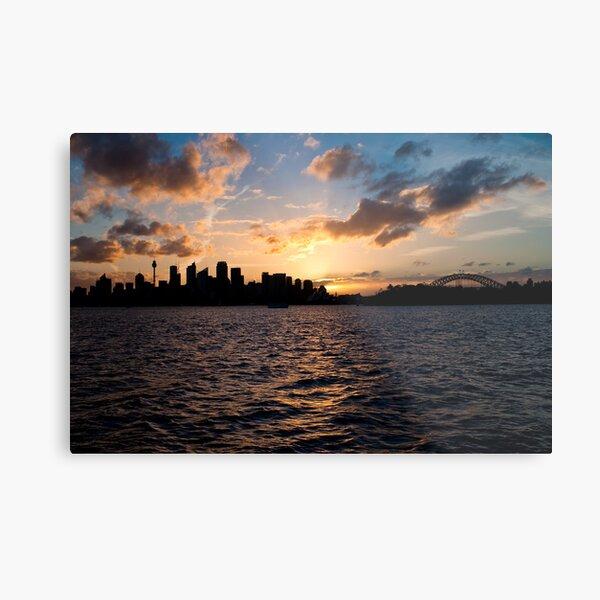 Sunset @ Taronga Zoo Wharf Metal Print