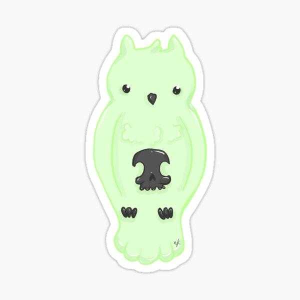 Glow Owl Sticker