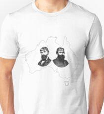 Bourke and Wills. Work and Bills Unisex T-Shirt