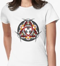 Trinity Skull Women's Fitted T-Shirt