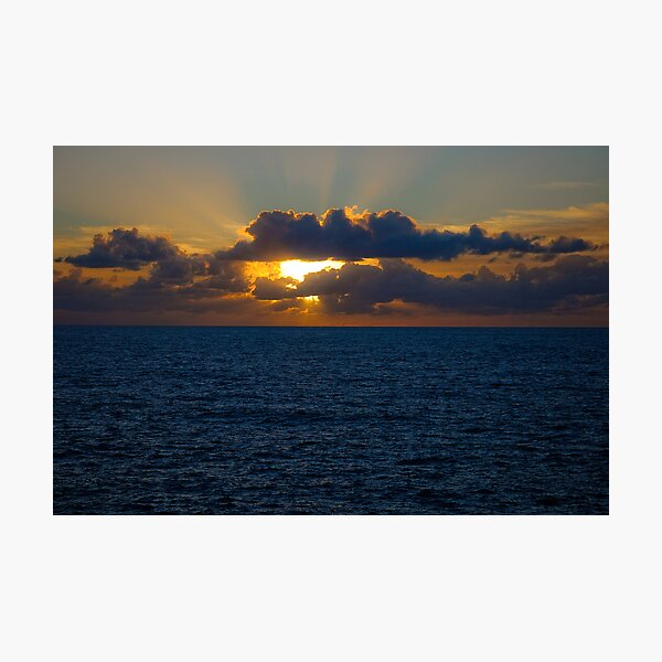 Sunrise @ Waverley Cemetery Photographic Print