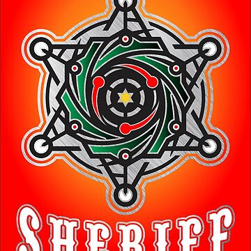 sheriff logo by bery-creative