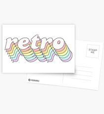 Retro Postcards