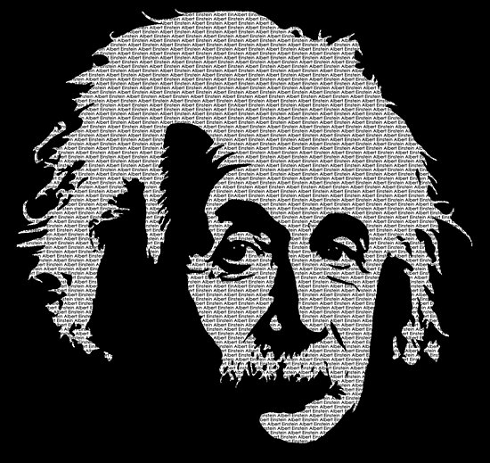 albert einstein pop art posters by catbydesign redbubble