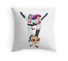 Team Rocket Throw Pillow
