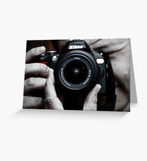 Nikon Shooter Greeting Card