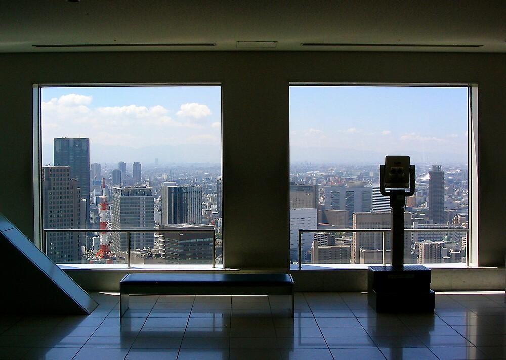 Sky Tower, Osaka by C1oud